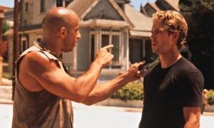 Vin Diesel with Paul Walker.